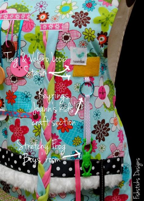pattern for activity apron the busy hands fidget apron pattern tutorial hopeful