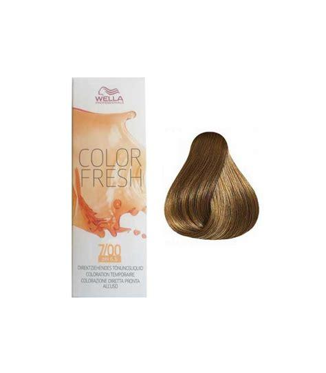 hair color fresh wella color fresh 7 00