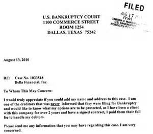 Charity Letter For Medical Bills bella financial to mountain view financial group what is going on
