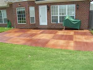 Backyard Concrete Patio Ideas Decorative Concrete Patio Xtreme Polishing System S Official