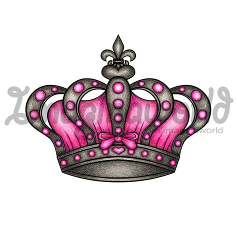 girl crown tattoos 1000 ideas about princess crown tattoos on