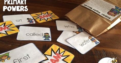 Buzzing With Ms B Family - buzzing with ms b sight words bam bag freebie