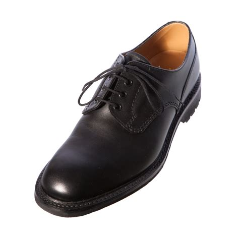 plain black shoes for loake epsom plain black waxy gents mens exclusive leather