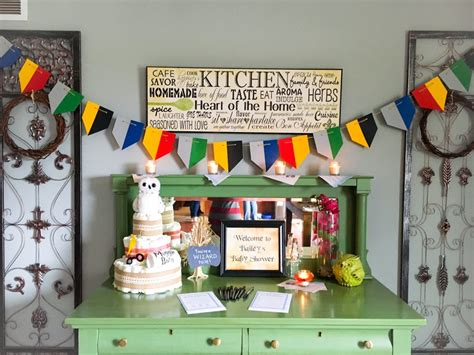 Harry Potter Baby Shower Theme by A Harry Potter Baby Shower Happy