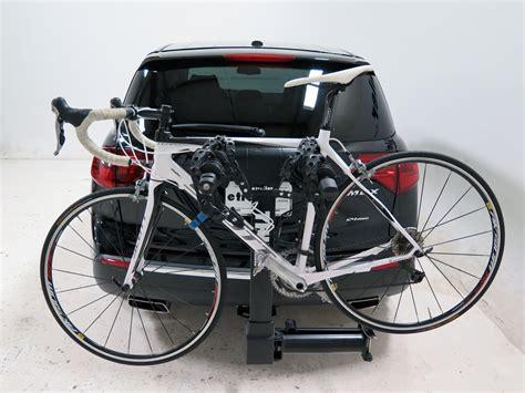 2015 acura mdx thule vertex swing 4 bike rack 2 quot hitches