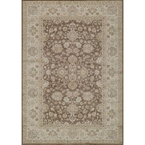 2 x 3 area rugs momeni ziegler brown 2 ft x 3 ft indoor area rug zieglze 06brn2030 the home depot