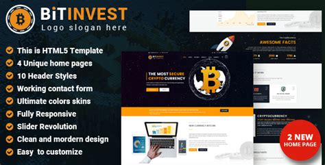 themeforest bitcoin bitcoin crypto currency template by thewebmax themeforest