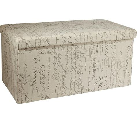 large fabric ottoman buy home large fabric ottoman script at argos co uk