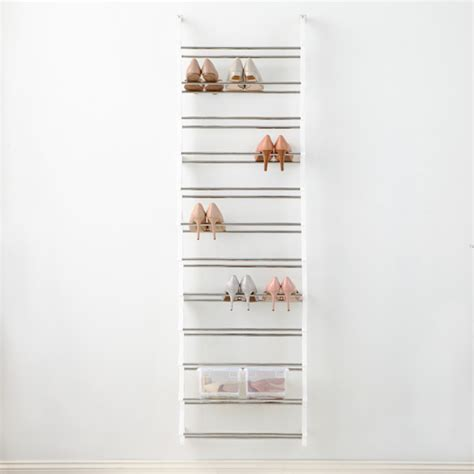 Container Store Shoe Racks by
