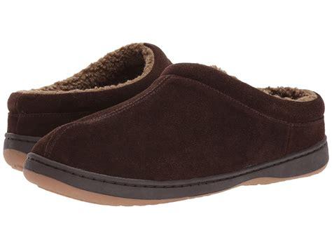tempur pedic slippers mens tempur pedic arlow chocolate s slippers slippers