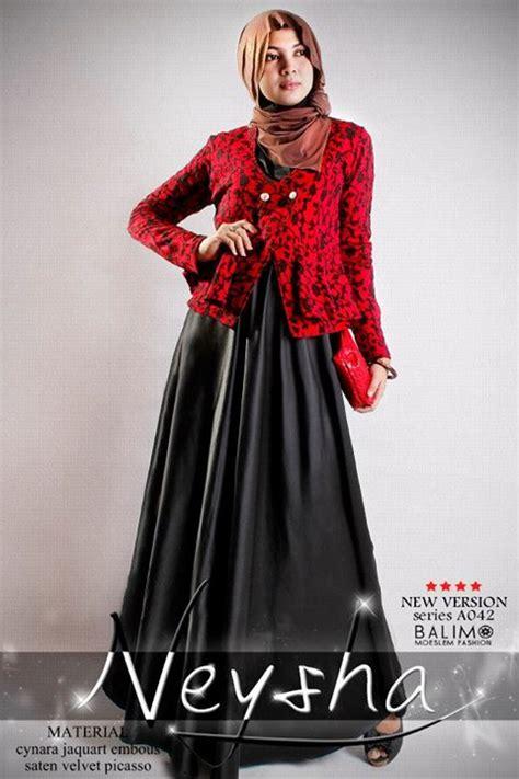 Baju Atasan Wanita Kici Plum Terlaris balimo neysha 5 hitam baju muslim gamis modern