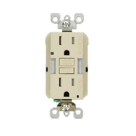 light switch outlet combo light switch silver combination gfci outlet wiring