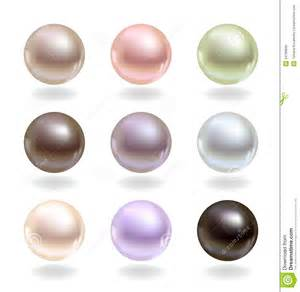 colors of pearls pearls of different colors royalty free stock photo