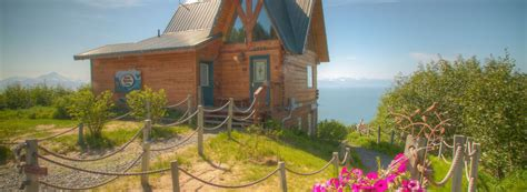 Alaska Adventure Cabins Homer Ak by Log Cabins And Vacation Rentals Overlooking Kachemak Bay