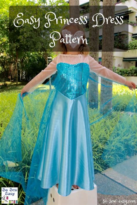 pattern princess dress free easy princess dress pattern favecrafts com