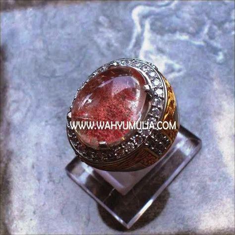 Batu Akik Phantom Memo batu antik phantom quartz kecubung karang sold