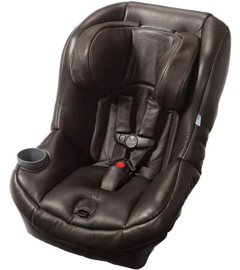 leather car seats maxi cosi pria 70 convertible car seat brown leather