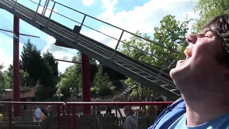 theme park review youtube theme park review rides dragon s fury at chessington