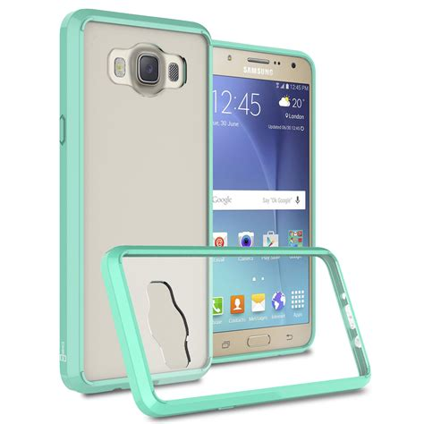 Bumper Blackdoor Plate For Samsung Galaxy J7 coveron for samsung galaxy j7 2016 slim hybrid