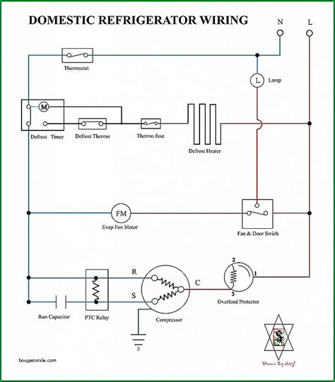domestic refrigerator wiring diagram wiring diagram with