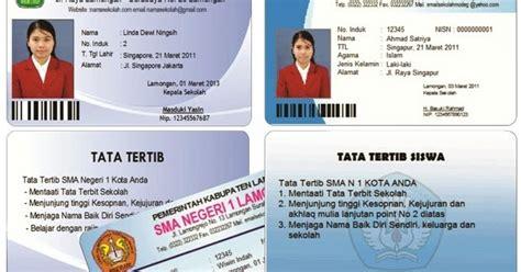 cara membuat paspor pelajar cara membuat kartu siswa software kartu pelajar
