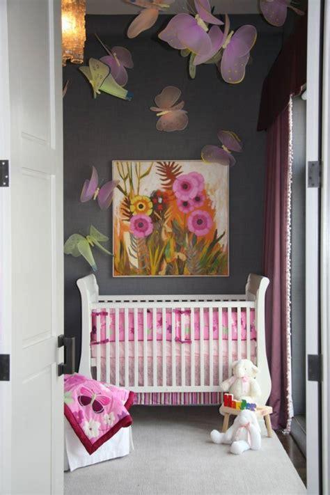 chambre bébé design idee deco chambre fille et gris