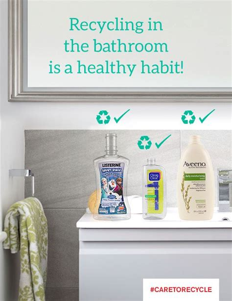 bathroom recycling 16 best recycle this not that images on pinterest