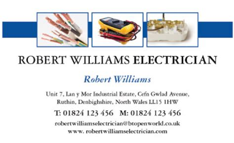 Electrician Business Cards Templates Free by Business Cards Free Electrical Services