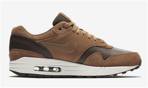 Sepatu Nike Air 1 Brown Premium Quality nike air max 1 premium leather ale brown sneaker bar detroit