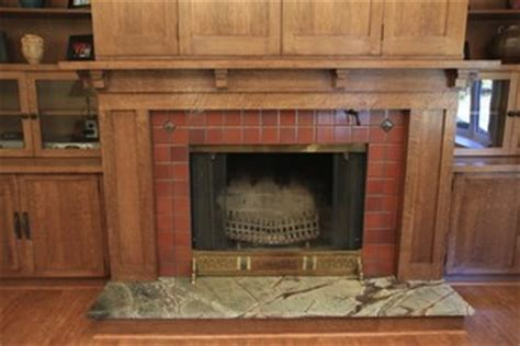 custom woodworking fireplace mantel  bookcases