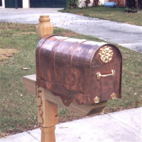 Handmade Mailbox - ejmcopper custom copper miscellaneous mail box