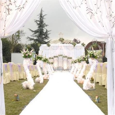 Small Wedding No Aisle by Wedding Carpet 1m Width 25 M Roll Non Woven Carpet Aisle