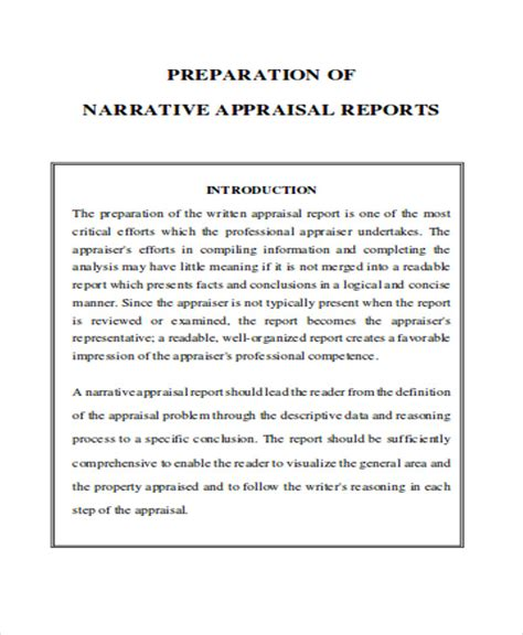 Narrative Report Writing Exle Narrative Performance Review Template