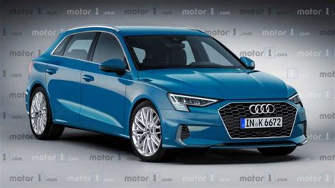 Audi A3 Hatchback 2020 by 2020 Audi A3 Sportback Render Takes The Camouflage