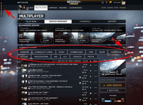 this is why i use the better battlelog server browser plugin battlefield 4
