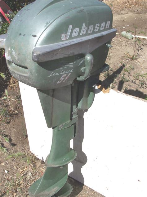 vintage johnson seahorse 5 5 hp outboard boat motor 100 - 5hp Boat Motor