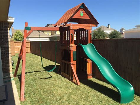 west texas swing sets the perfect wooden swing sets for small