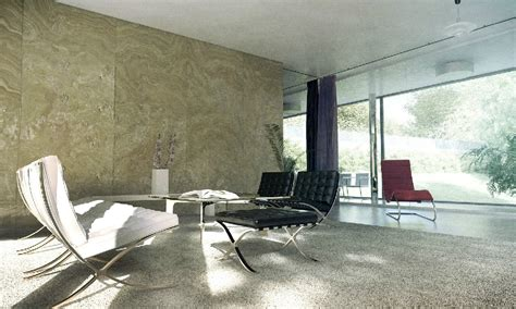 Sitting Room And Dining Room Designs by Sitting Room Marble Wall Interior Design Ideas