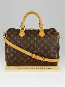 5 Reasons To Buy Louis Vuitton Speedy Bag by Louis Vuitton Monogram Canvas Speedy Bandouliere 30 Bag