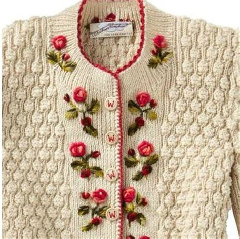 embroider knitting mariette s back to basics my knitted