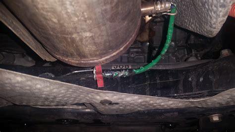 check engine light sensor check engine light chewed sensor wire priuschat