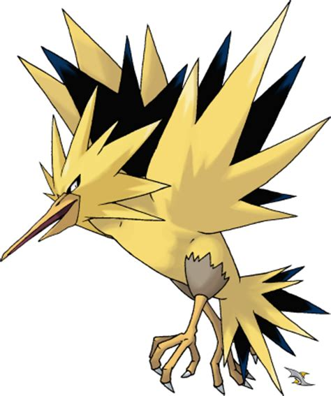 Zapdos Papercraft - teaminstinct because zapdos suit better in 3d