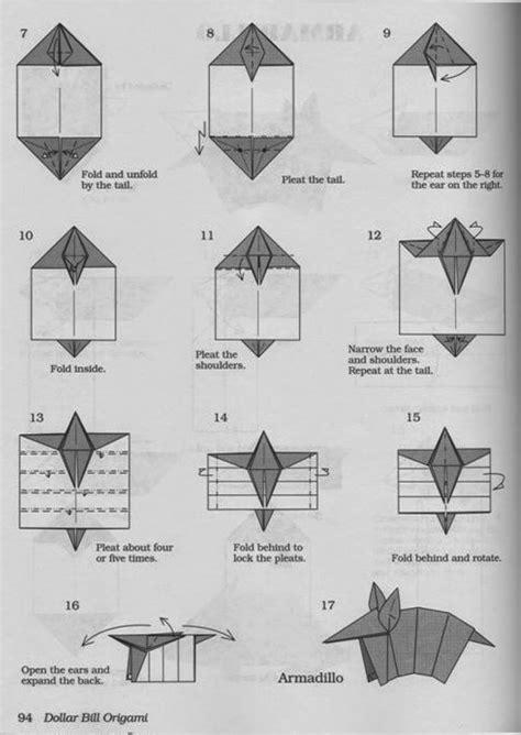 Origami Armadillo - origami armadillo 28 images armadillo dollar origami