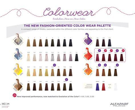 alfaparf milano hair color chart 295 best images about color charts on pinterest colour