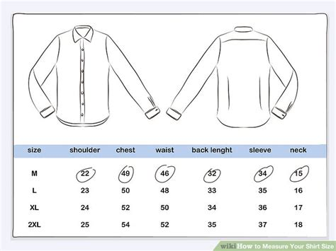 Tshirt How To Your how to measure your shirt size with pictures wikihow