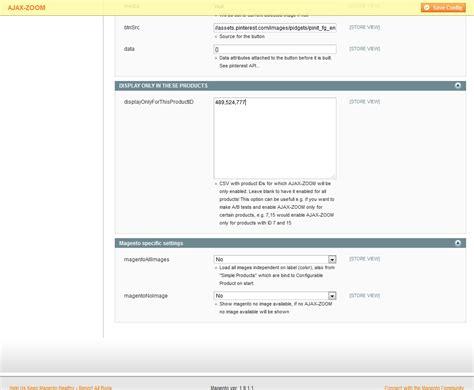 magento custom layout update view phtml ajax zoom 360 176 rotate view modules magento prestashop