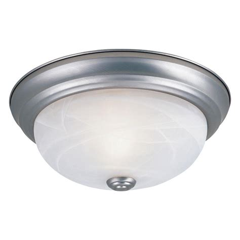 Pewter Ceiling Light Designers Reedley Collection 2 Light Pewter