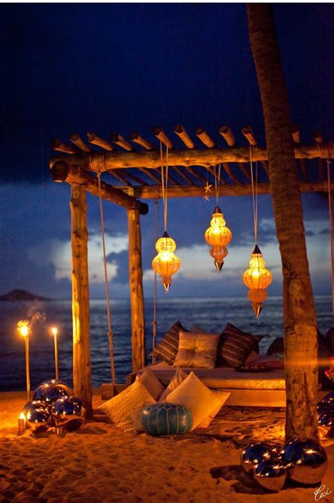 17 Best ideas about Night Beach Weddings on Pinterest