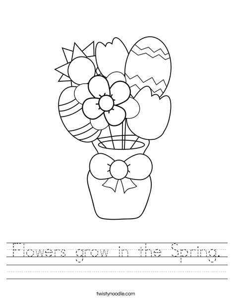 printable worksheets about flowers spring worksheet lesupercoin printables worksheets
