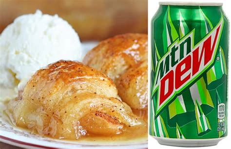 Reader Recipe Mountain Dew Apple Dumplings by Dr Pepper Chocolate Cake Mountain Dew Apple Dumplings
